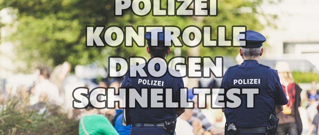 Drogenschnelltest der Polizei